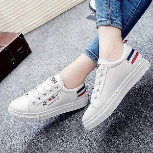 Murah Sepatu Kets Casual Putih Sp11 Sepatu