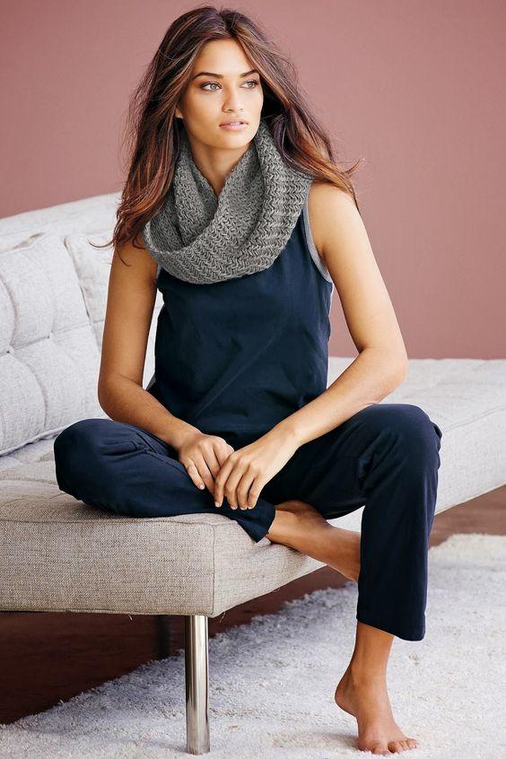 Shanina Shaik for Next Night and Loungewear