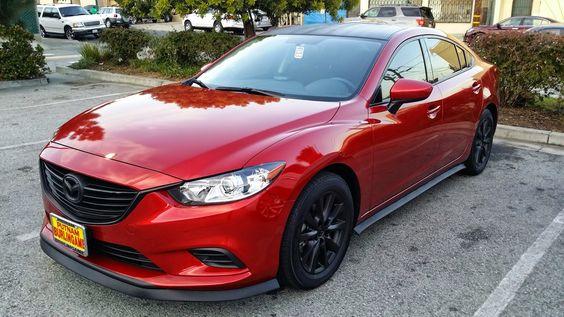 Red Mazda 6 S