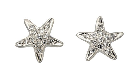 #aretes Atenea en oro blanco con #diamantes #diamonds #jewelry #joyas #fashion #moda