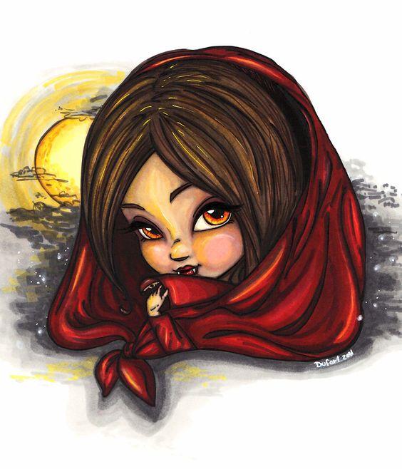Little Red Ridding Fang by JadeDragonne on deviantART