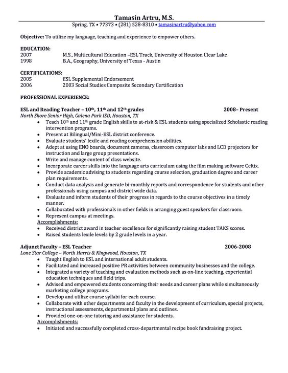 making a resume with latex