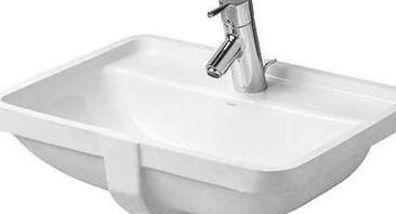 Philippe Starck Duravit 3 Ceramic Rectangular Undermount Bathroom