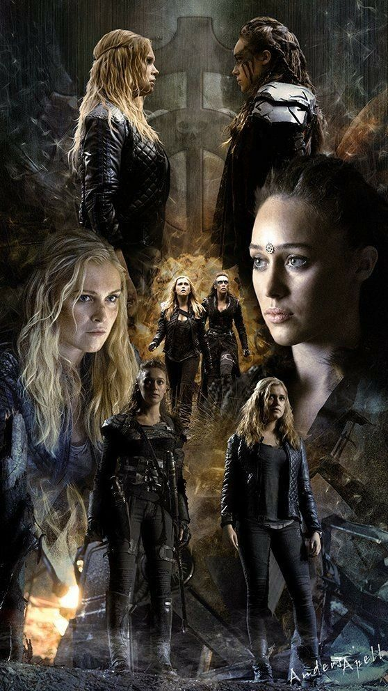 Pin By Harleen Quinzel On Clexa The 100 Cast The 100