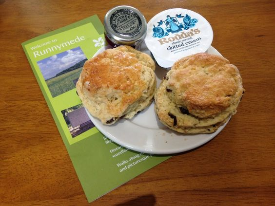 3.5 out of 5 for the Runnymede scone