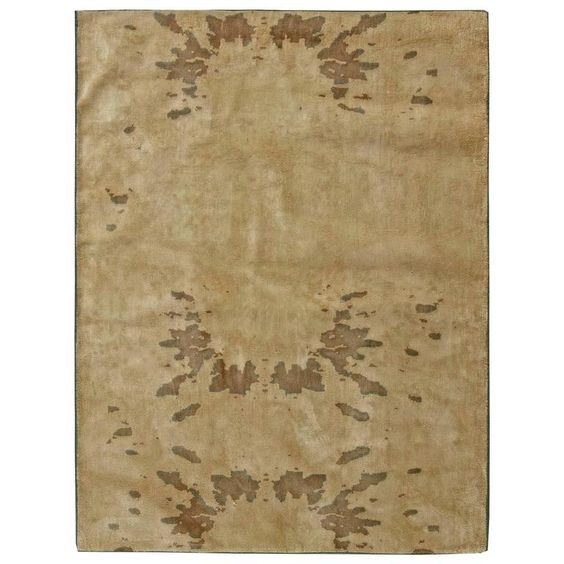 Contemporary Silk Rug | From a unique collection of antique and modern indian rugs at https://www.1stdibs.com/furniture/rugs-carpets/indian-rugs/