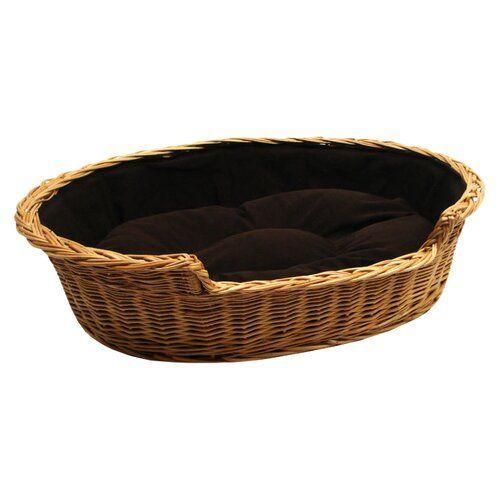 Archie Oscar Hundekorb Mit Kissen Jessamine Wicker Dog Bed Basket Dog Bed Dog Basket