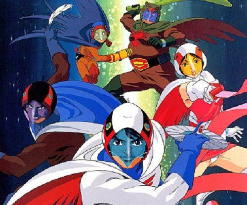 全員集合の科学忍者隊ガッチャマンのかっこいい画像。