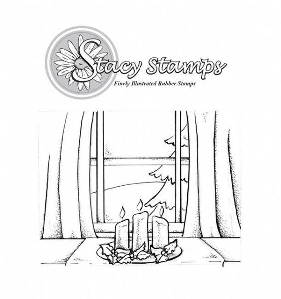 Stacy Stamps - By My Window Series - Holiday 504TT from Joanna Sheen