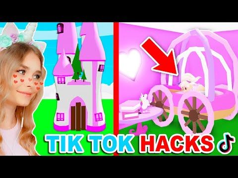 Tiktok Build Hacks Decides What I Build In Adopt Me Roblox Youtube Pet Store Ideas Roblox Cool House Designs