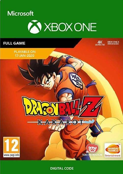 Dragon Ball Z Kakarot Xbox One Digital Download 44 99 In 2020