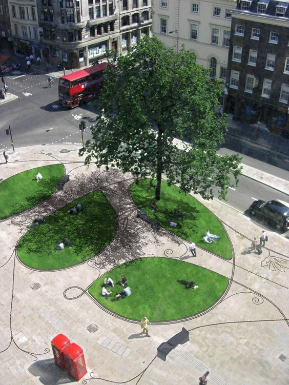 City Of London London Wall And Public Spaces On Pinterest