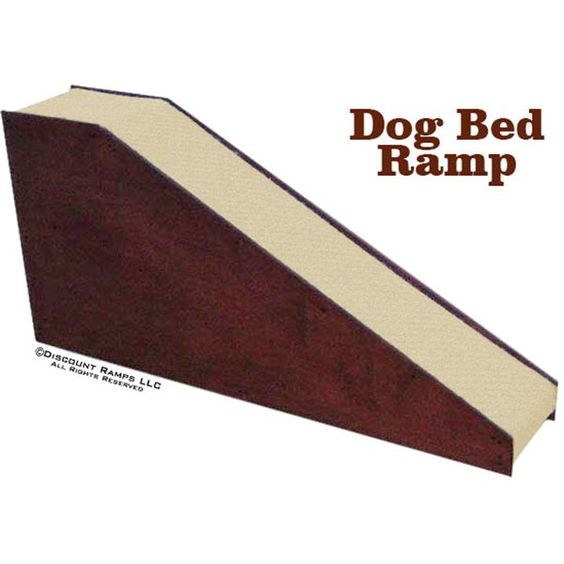 Dog bed ramps beds the o 39 jays and ps for Dog bed beside bed