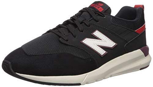 009 V1 Sneaker, Black/Velocity RED