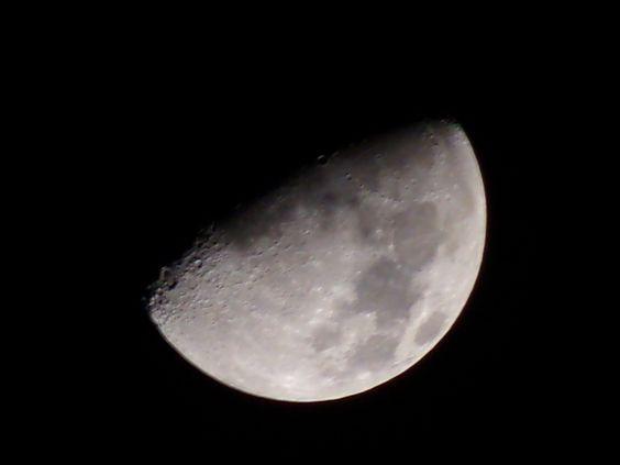 Majestosa Lua.