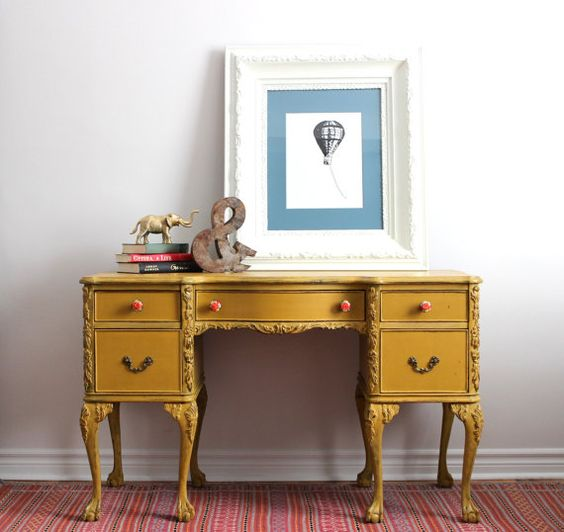 Office Furniture Houston Tx Painting: Painted With Milk Paint On Etsy