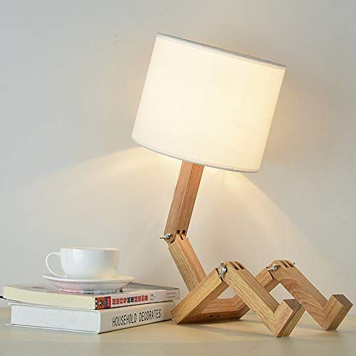 Lampada da tavolo in legno lampada da tavolo Oak lampada