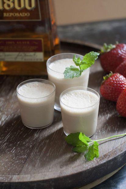 Texas Tequila Milkshake - Vanilla ice cream, Godiva ...