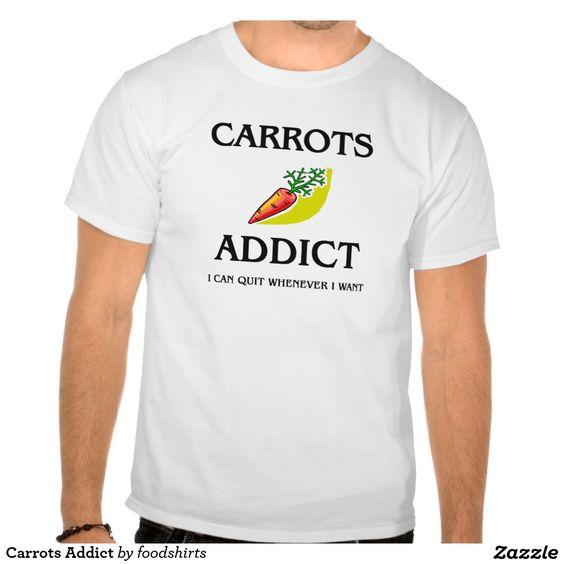 Carrots Addict Shirt