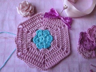 Häkeln im Quadrat: Pretty in Pastell...