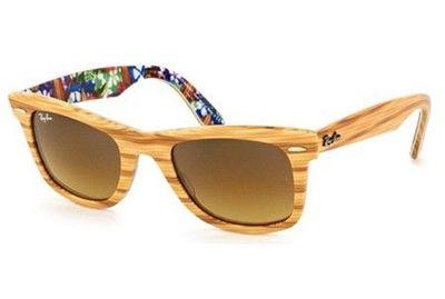 Ray Ban wood sunglasses