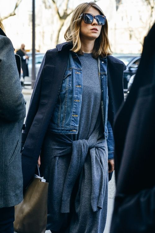Page 3 Denim jackets and Chic on Pinterest
