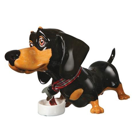 LITTLE PAWS DACHSHUND FIGURINE  Mother in law
