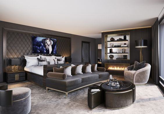 Luxurious Bedroom - JEANNET | Apartment Zurich - Explore our apartment project in Zurich