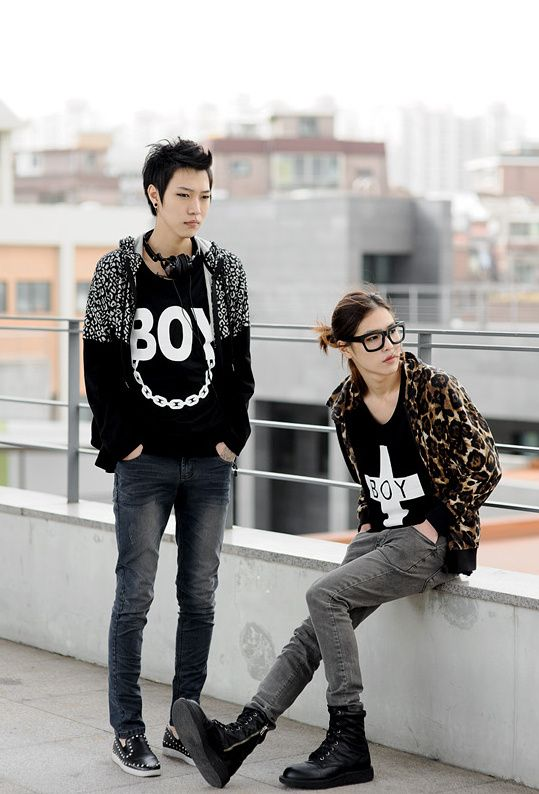 Tomboy Femme Style Sassy Tomboy Street Pinterest Boys Couple Style And Korean Fashion