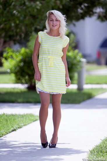 Yellow dress, Yellow and Dresses on Pinterest