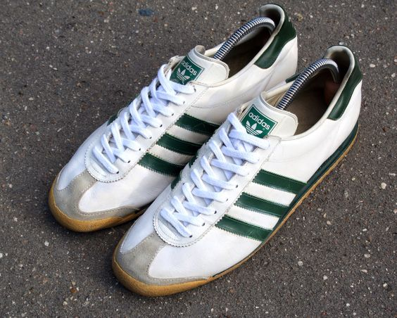 Adidas Rom. Release: 1980s. Made in West Germany. #adiporn #adidasvintage #adidasoriginals #adidasrom