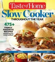 LINKcat Catalog › Details for: Taste of Home slow cooker throughout the year :