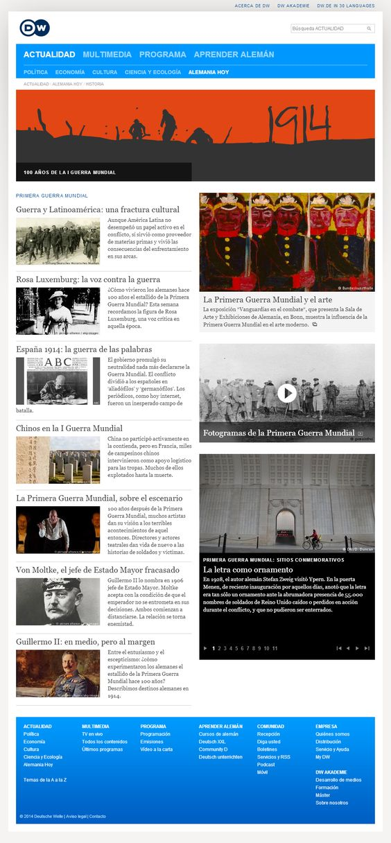 Primera Guerra Mundial | DW.DE