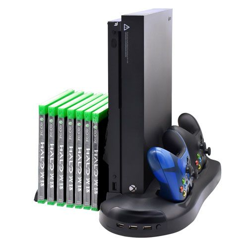 Fastsnail Xbox One X Vertical Stand Cooling Fan Controller