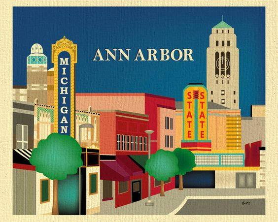 Ann Arbor Michigan Home Colors And We