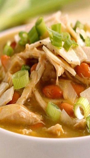 Green Chicken Enchilada Soup | chicken recipes