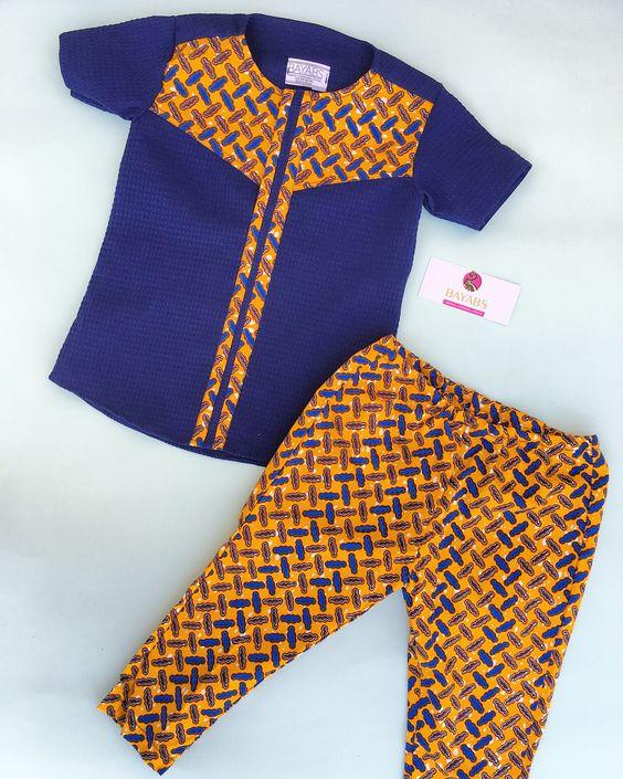 Ankara wear. Ankara boys wear. African print boys wear