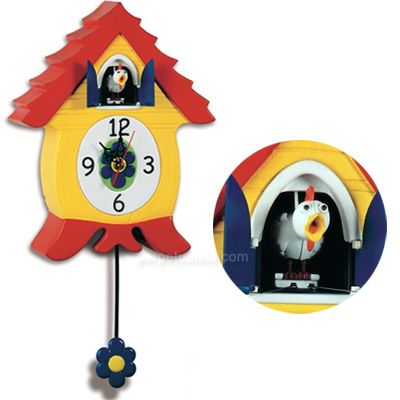 Cluckcoo Clock Chicken Coo Coo Clock Where My Heart Is