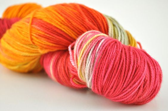 Handmaiden Fine Yarn - Casbah Sock  Turkish Delight