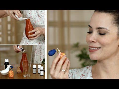 Como fazer perfume sem álcool refrescante - Lar Natural