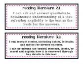 Third Grade Common Core Standards for Literature