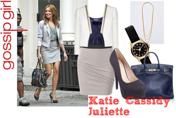 """""""Katie Cassidy Gossip Girl"""" by alainab2231 on Polyvore"""
