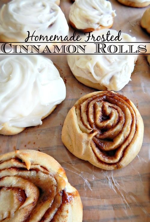 Homemade Frosted Cinnamon Rolls, Taste Just Like Cinnabon! | My ...