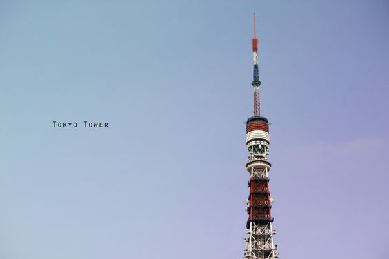 Tokyo Tower by Ye Myat Aung, via 500px