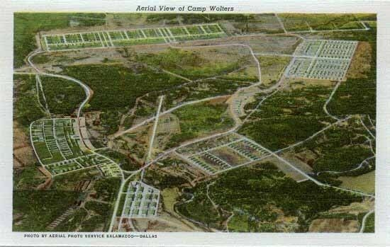 Mineral wells texas camp wolters decaying military base deactivated