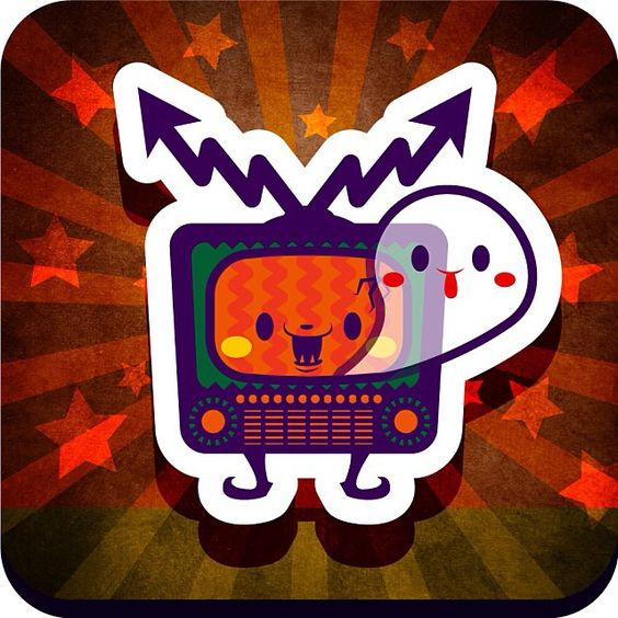 Horror TV boy! ホラーTVボーイ! #tv #horror #ハロウィン #halloween #仮装 #お化け #trickortreat #trickortreating #illustration #絵 #イラスト