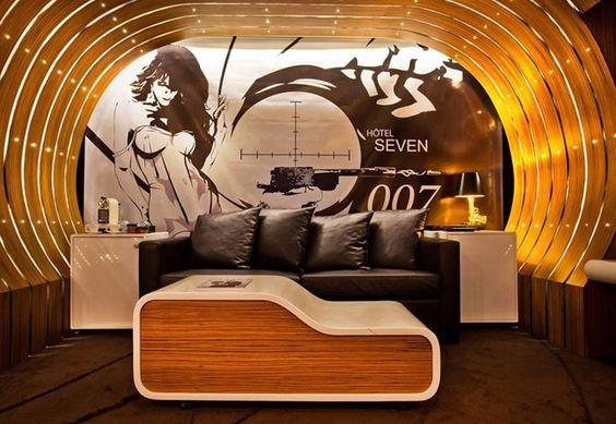 Hotel em Paris oferece dormitório de cinema
