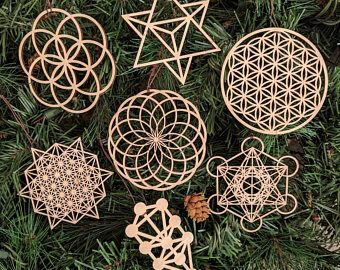 Pin By Maria Victoria Nava On Mandala Asana Vs In 2020 Sacred Geometry Flower Of Life Holiday Ornaments