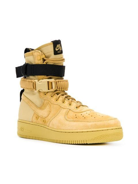 air force 1 uomo gold