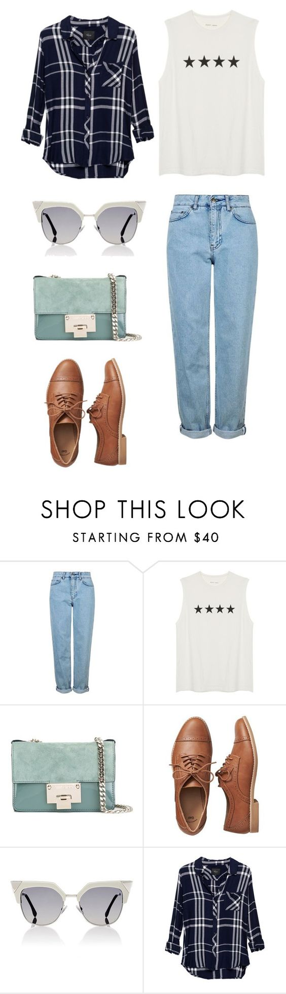 """Untitled #213"" by mcbscap on Polyvore featuring Topshop, Jimmy Choo, Gap, Fendi and Rails"